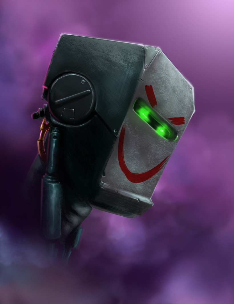 joker bot head